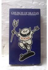 Church of Skatan - Hellfire. Damnation. Skateboarding.  (1995) VHS - (Preowned)