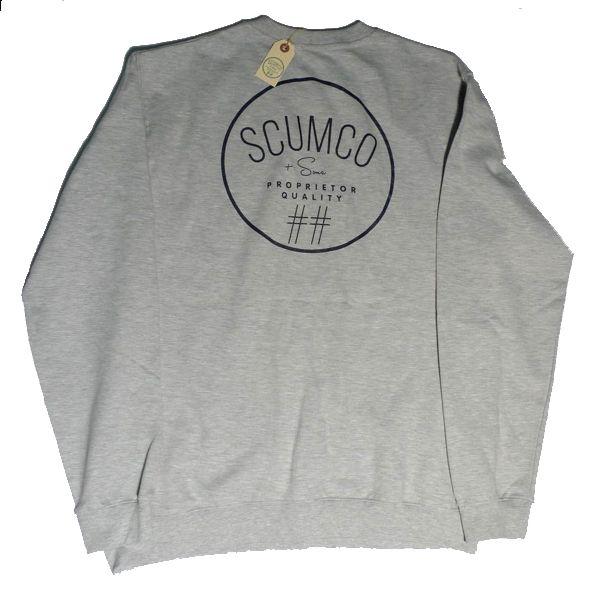 Scumco & Sons Scumco & Sons Crewneck - Grey
