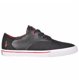 Supra Supra Pistol (Deathwish) - Black/Athletic Red-White (size 13)