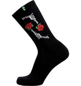 Psockadelic Psockadelic Ellington Rose Black Socks