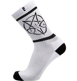 Psockadelic Psockadelic Phelper Vision White Socks