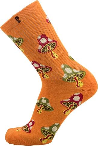 Psockadelic Psockadelic Shroom 2 Orange Socks