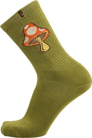 Psockadelic Psockadelic Shroom 3 Olive Socks