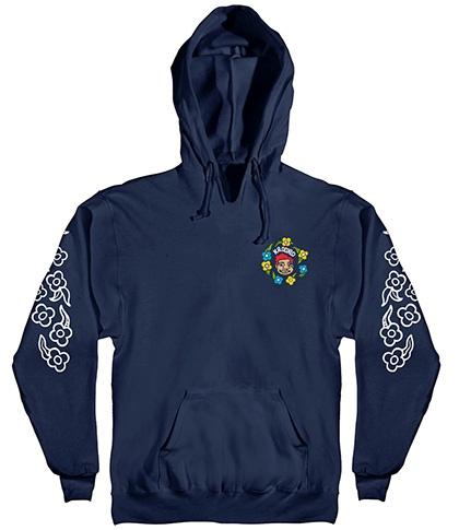 Krooked Krooked Sweatpants Sleeve Hoodie - Navy
