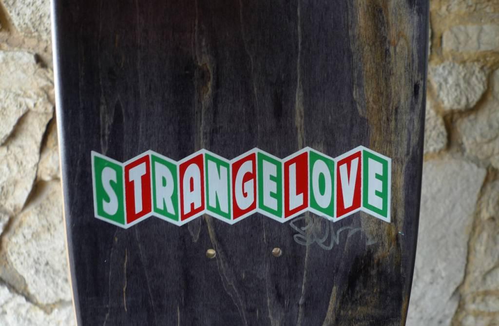 StrangeLove StrangeLove Sean Cliver Jesus Saves Deck - 8.625 x 32.375