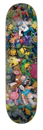Santa Cruz Santa Cruz x TMNT Toys Everslick Deck - 8.0 x 31.6