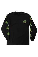 Santa Cruz Santa Cruz x TMNT Sewer Dot Longsleeve T-shirt - Black