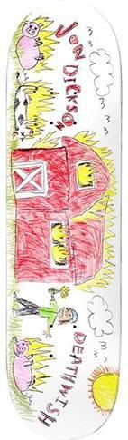 Deathwish Deathwish Dickson Kindergarten Deck - 8.12 x 31.5
