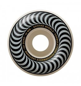 Spitfire Sptifre Formula Four Classic Silver 54mm 101d Wheels (Set of 4)