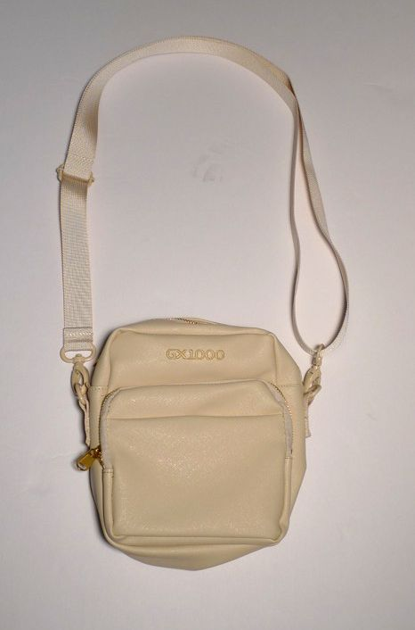 GX1000 GX1000 Mono Bag - Cream Leather
