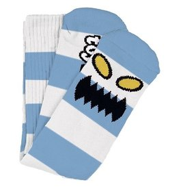 Toy Machine Toy Machine Monster Big Stripe Light Blue Socks