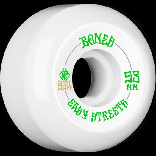 Bones Wheels Bones STF Easy Streets V5 53mm 99a Wheels (Set of 4)