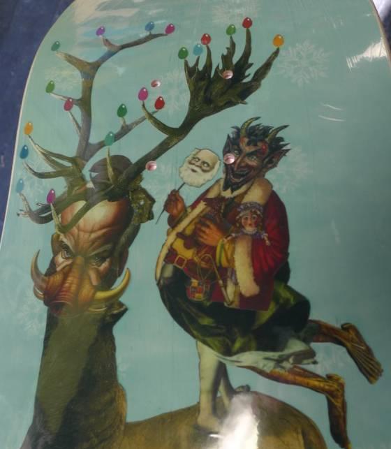 StrangeLove Strangelove Dave Carnie Sleipnir Deck - 8.875 x 32.25 (Slick Bottom)