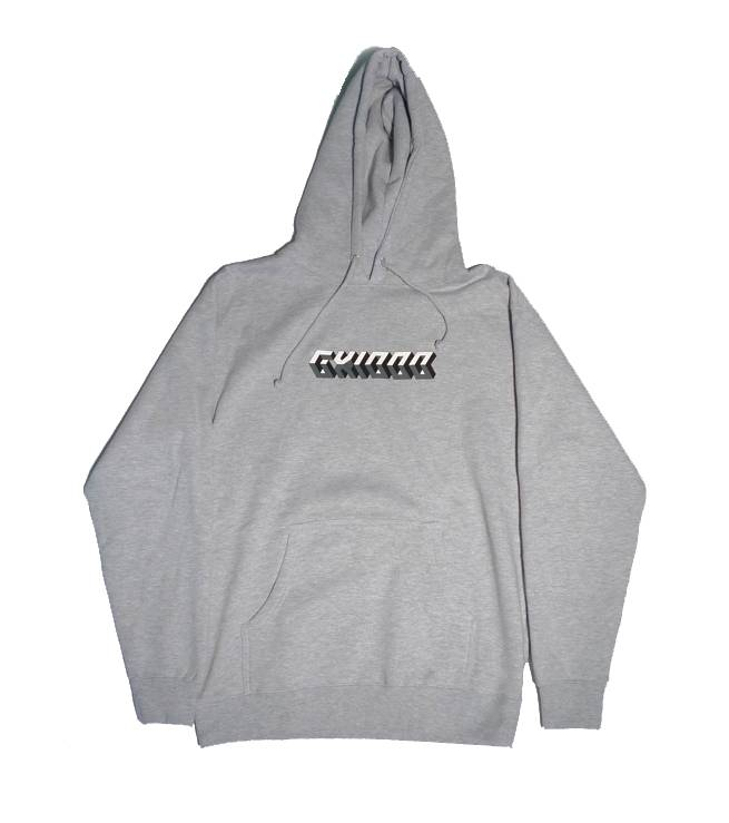 GX1000 GX1000 3D Hoodie - Heather Grey