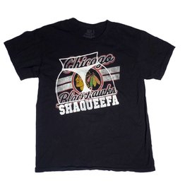 Shaqueefa OG Shaqueefa Chicago Blackhawks T-shirt - Black (size Medium)