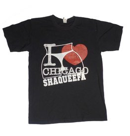 Shaqueefa OG Shaqueefa I Love Chicago T-shirt - Black (size Medium)