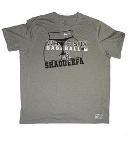 Shaqueefa OG Shaqueefa Chicago White Sox Dri-Fit T-shirt - Heather Grey/Black (size X-Large