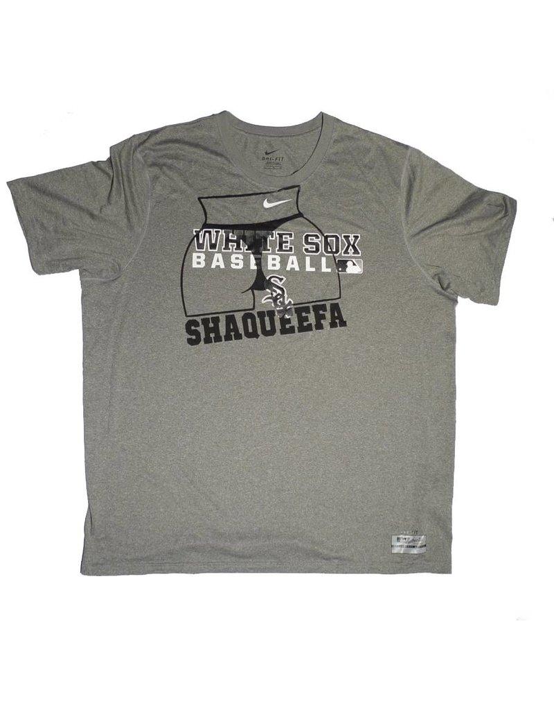 Shaqueefa OG Shaqueefa Chicago White Sox Dri-Fit T-shirt - Heather Grey/Black (size X-Large