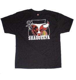 Shaqueefa OG Shaqueefa Chicago Sports Fans T-shirt - Black (size X-Large)