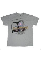 Shaqueefa OG Shaqueefa Chicago Cubs 2016 World Series Champions T-shirt - Grey (size Medium)
