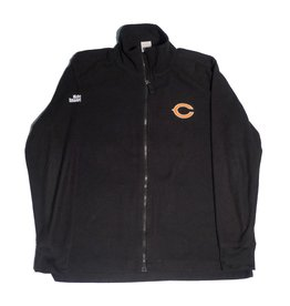Shaqueefa OG Shaqueefa Chicago Bears Fleece Zip-Up - Black (size X-Large)