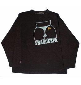 Shaqueefa OG Shaqueefa Chicago Blackhawks Polyester Crewneck - Black (size X-Large