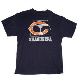 Shaqueefa OG Shaqueefa Chicago Bears Stitch Logo T-shirt - Navy (size
