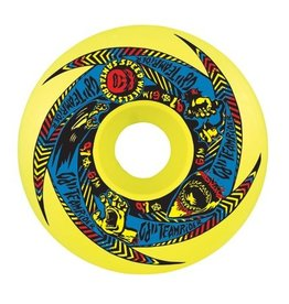 OJ wheels OJ II Team Rider Orignal Neon Green 61mm 97a Speedwheels (set of 4)