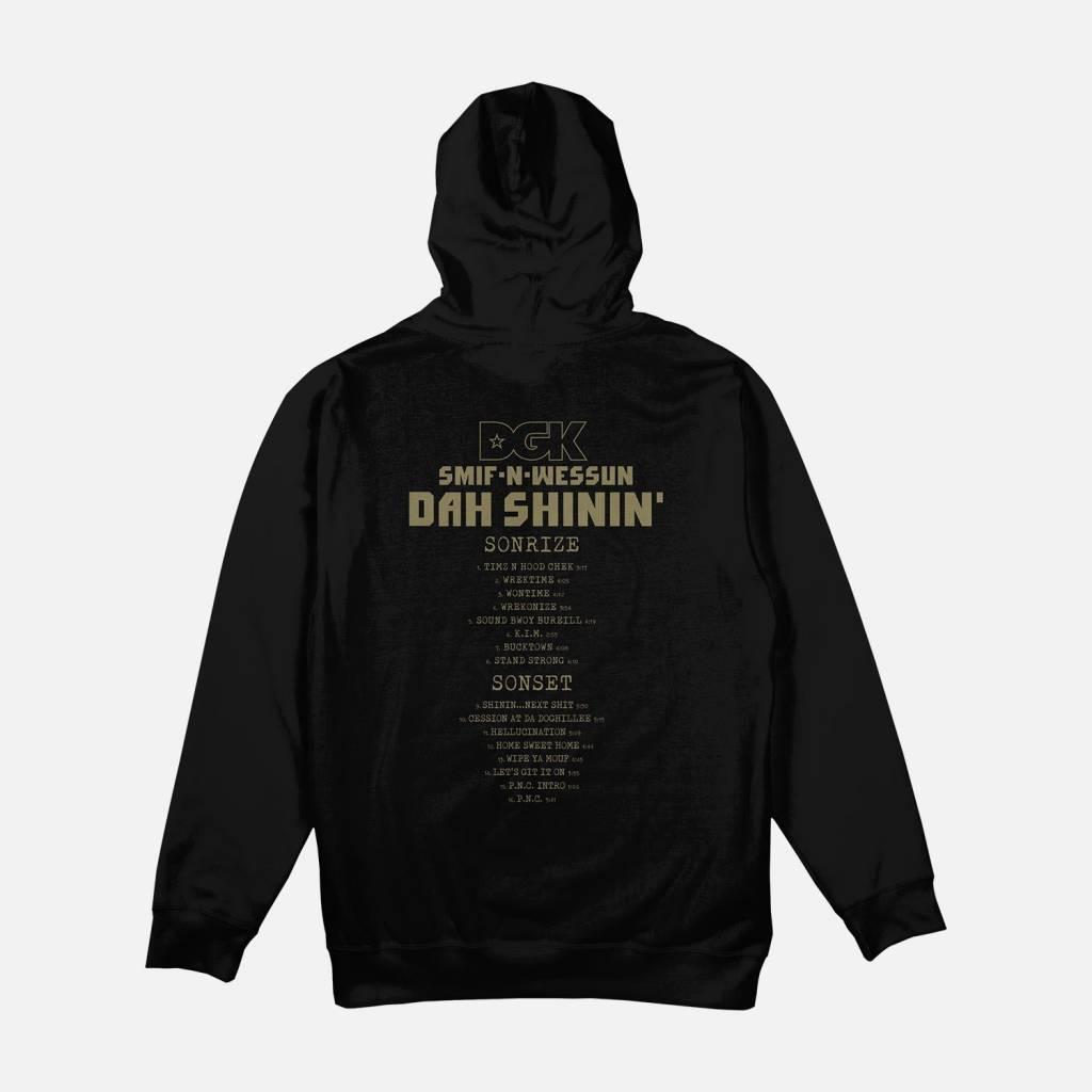 DGK DGK Smif-N-Wessun Hoodie - Black (size Large)