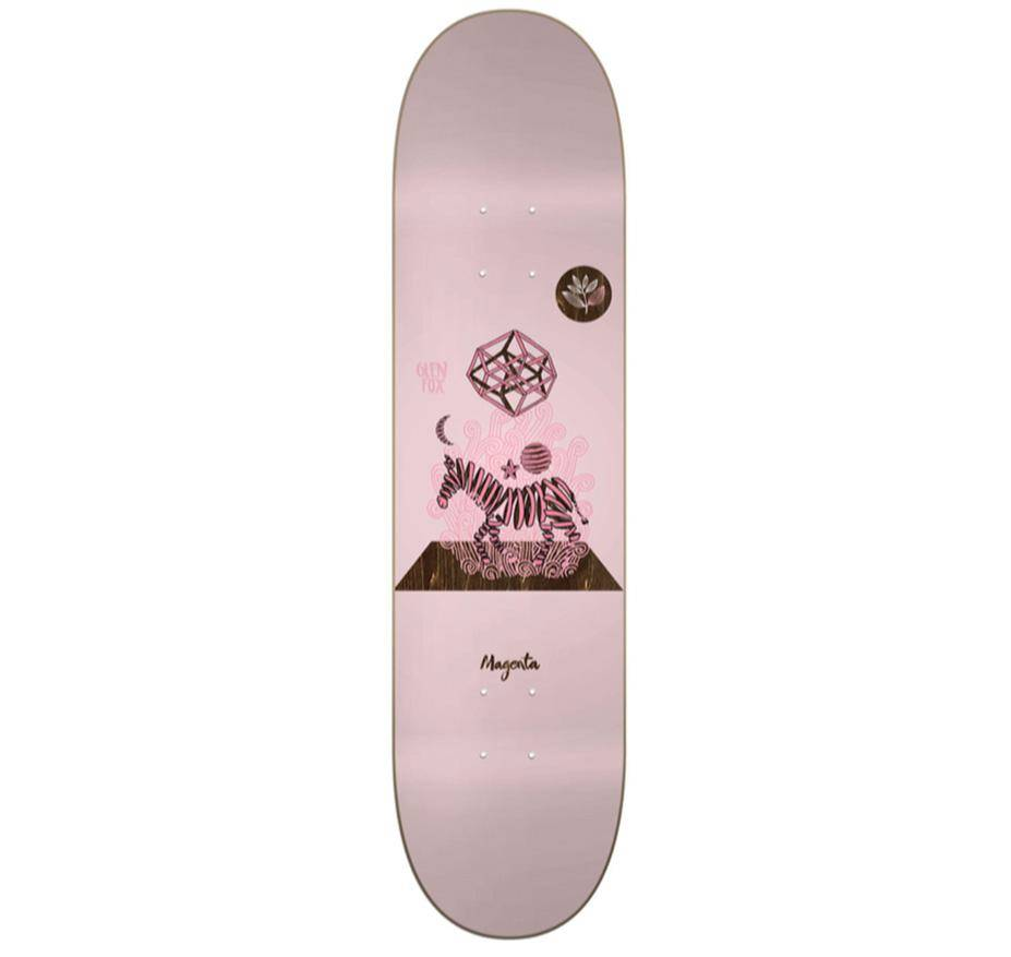 Magenta Magenta Preceptions Glen Fox Deck - 7.875 x 31.5