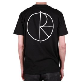 Polar Polar Stroke Logo T-shirt - Black/White