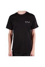 Polar Polar Stroke Logo T-shirt - Black/White