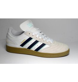 Adidas Adidas Busenitz - Cloud White/Collegiate Burgndy/Clear Mint (size 5 or 9.5)