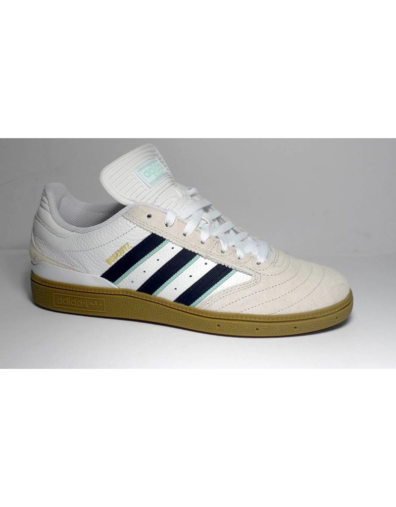 Adidas Adidas Busenitz - Cloud White/Collegiate Burgndy/Clear Mint (size 5, 6 or 9.5)