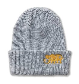 Black Label Black Label Elephant Beanie - Grey