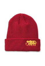Black Label Black Label Elephant Beanie - Red