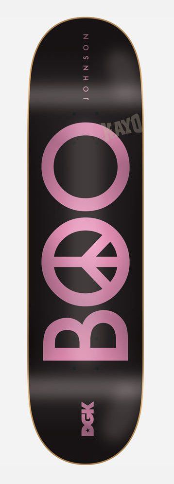 DGK DGK Peace Boo Deck - 8.25