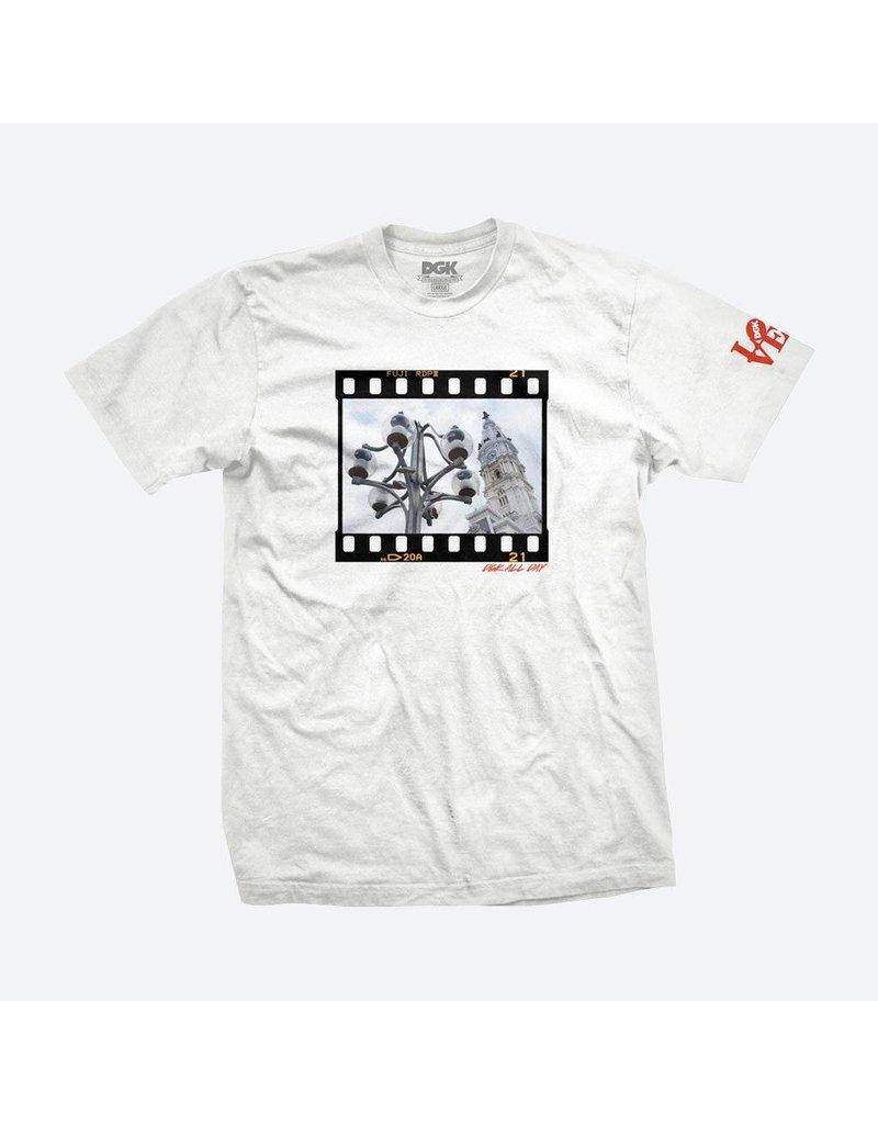 DGK DGK x Thoro Philadelphia T-shirt - White (size Medium)