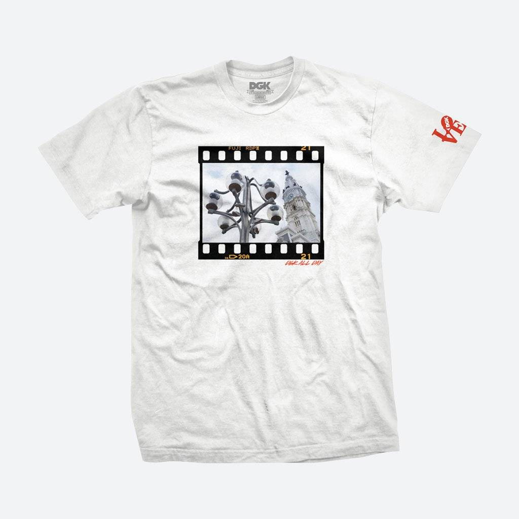 DGK DGK x Thoro Philadelphia T-shirt - White