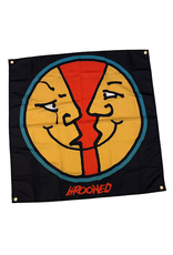 "Krooked Krooked Moonface Banner - 36"" x 36"""