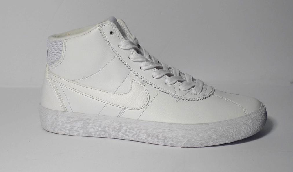 Nike SB Nike sb Bruin Hi Women's - White/White-Vast Grey (wmns size 5, 5.5, 7.5 or 8)