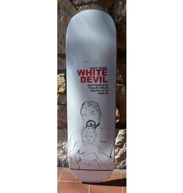 Dead On Arrival D.O.A. Matt Town White Devil Deck - 8.5 (Square)