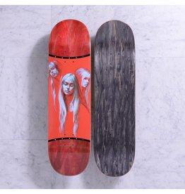 """Quasi Quasi Claire """"Maroon"""" Deck - 8.625 x 33"""