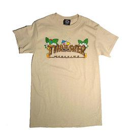 Thrasher Mag Thrasher Tiki T-shirt - Sand