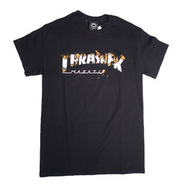 Thrasher Mag Thrasher Intro Burner T-shirt - Black