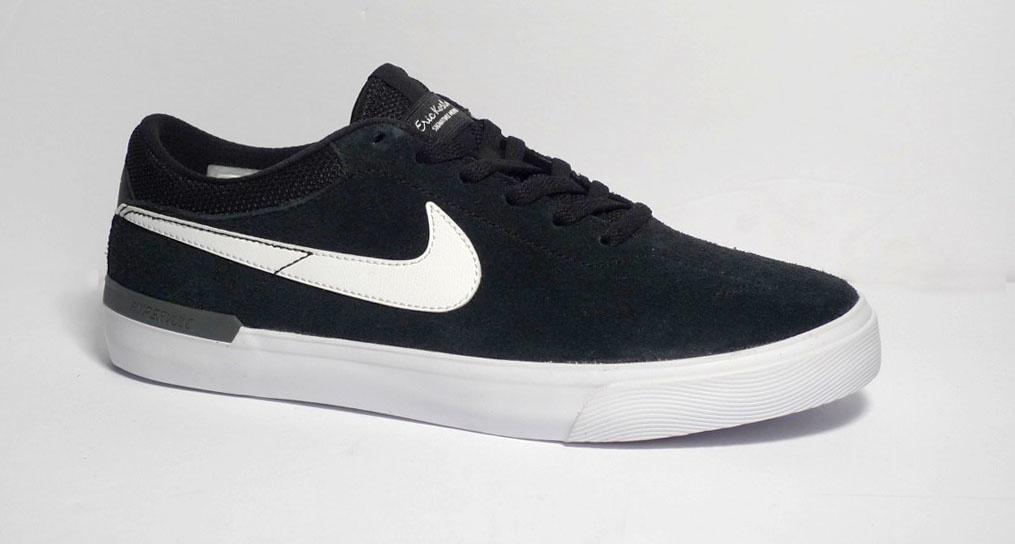 Nike SB Nike sb Koston Hypervulc - Black/White-Drk Gry (size 7, 10, 12 or 13)