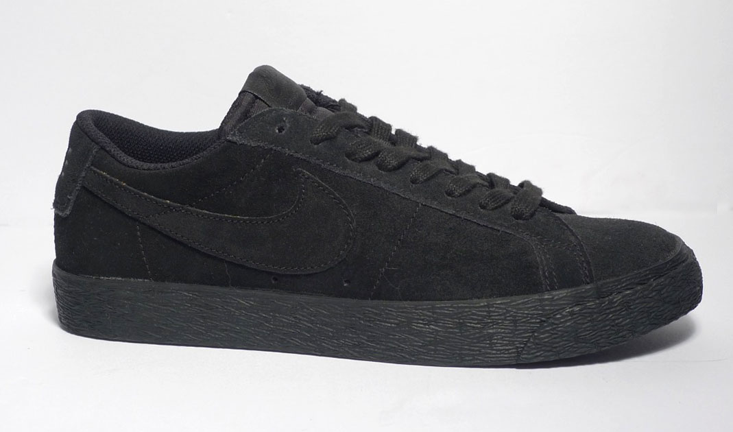 timeless design e370e c347e Nike sb Zoom Blazer Low - Black/Black-Gunsmoke