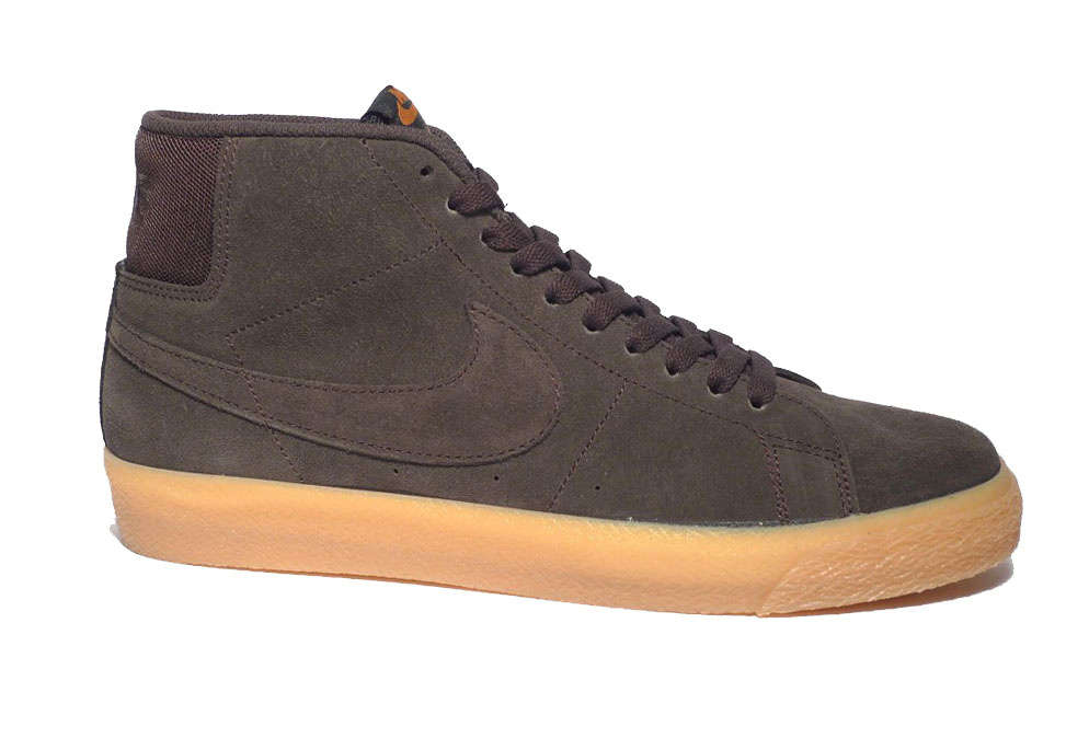 Nike SB Nike sb Blazer Mid - Velvet Brown/Velvet Brown-Cinder Orange