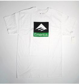 Emerica Emerica Combo T-shirt - White (size Medium or Large)