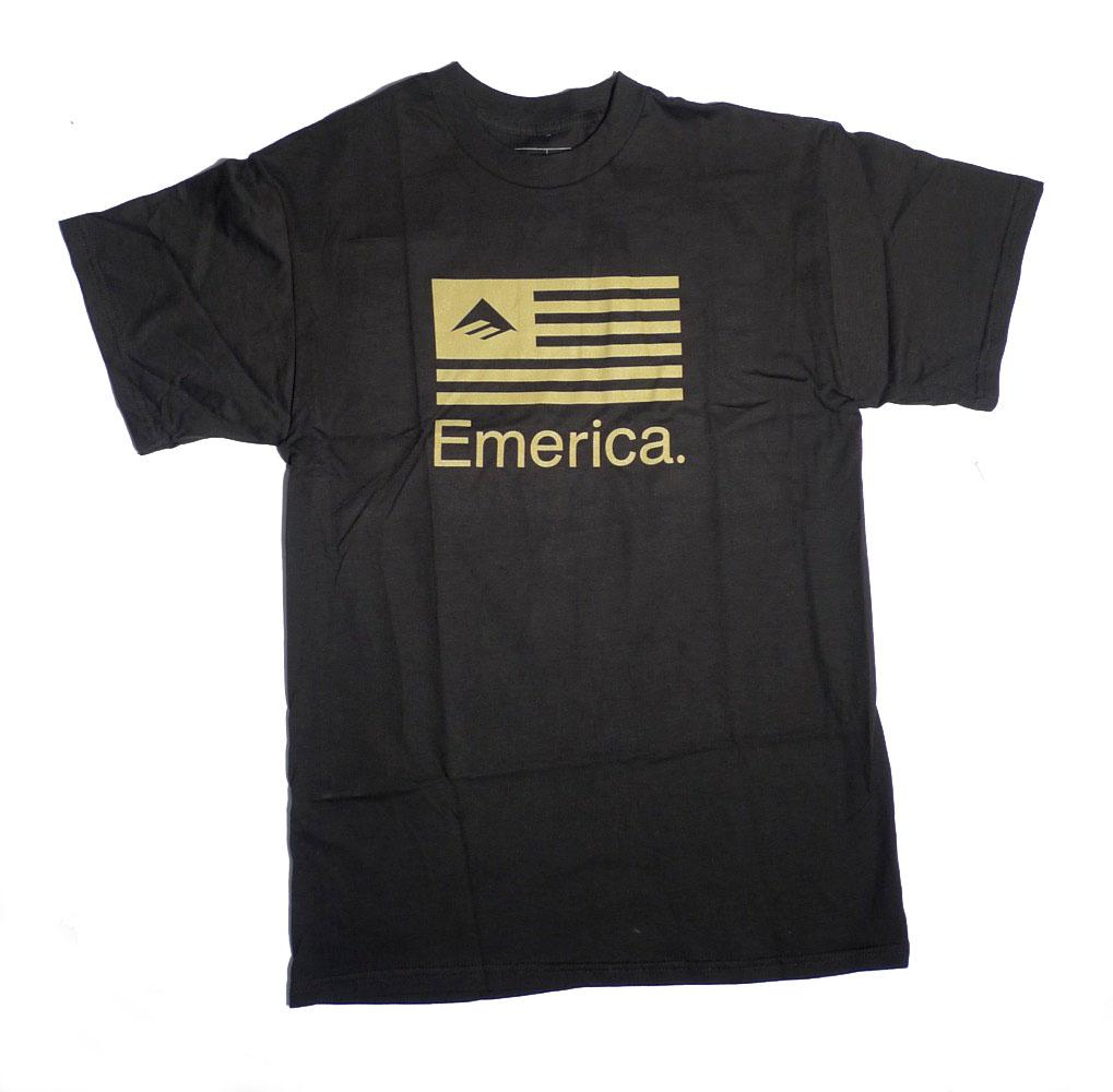 Emerica Emerica Pure Flag T-shirt - Black